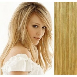 "20"" (50cm) Tape Hair / Tape IN human REMY hair - light blonde/natural blonde"