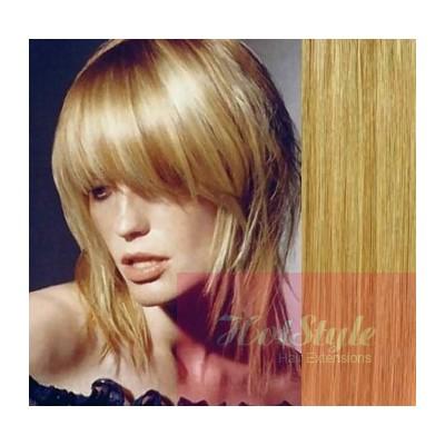 Clip in ofina - REMY 100% ľudské vlasy - PRÍRODNÁ/SVETLEJŠIA BLOND