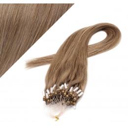 Vlasy pre metódu Micro Ring / Easy Loop / Easy Ring / Micro Loop 40cm - svetlo hnedé
