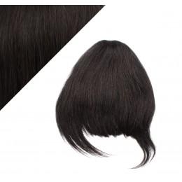Clip in ofina - REMY 100% ľudské vlasy - PRÍRODNÁ ČIERNA