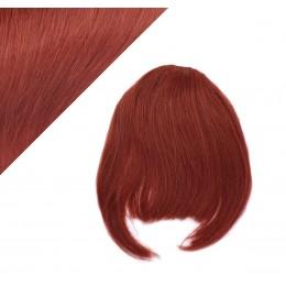 Clip in ofina - REMY 100% ľudské vlasy - MEDENÁ