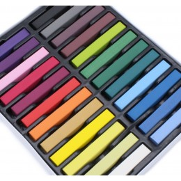 Farebné kriedy na vlasy