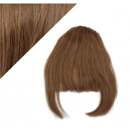 Clip in ofina - REMY 100% ľudské vlasy - STREDNE HNEDÁ