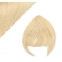 Clip in ofina - REMY 100% ľudské vlasy - SVETLEJŠIA BLOND