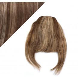 Clip in ofina - REMY 100% ľudské vlasy - TMAVÝ MELÍR
