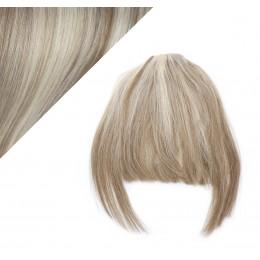 Clip in ofina - REMY 100% ľudské vlasy - PLATINA/SVETLO HNEDÁ