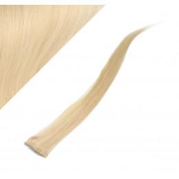 Clip in pramienok - REMY 100% ľudské vlasy, 6ks - blond